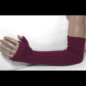 Free People Fingerless Cashmere Blend Elbow Gloves